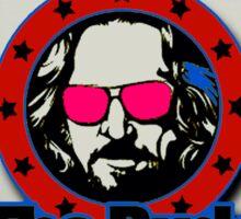 Vote Lebowski Sticker