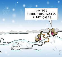 An Ood in Winter by ToneCartoons