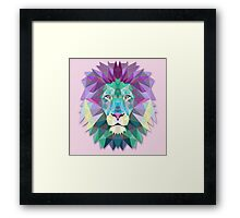 Lion Animals Gift Framed Print