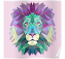Lion Animals Gift Poster