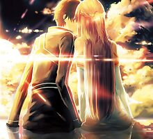 Sword Art Online - Asuna and Kirito by ghoststorm