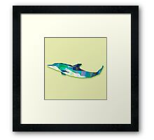 Dolphin Animals Gift Framed Print
