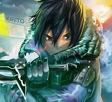 Sword Art Online - Kirito the Warrior by ghoststorm