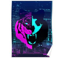 Night Tiger Poster