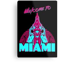 Welcome to Miami - I - Richard Metal Print