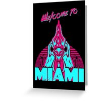 Welcome to Miami - I - Richard Greeting Card