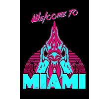 Welcome to Miami - I - Richard Photographic Print