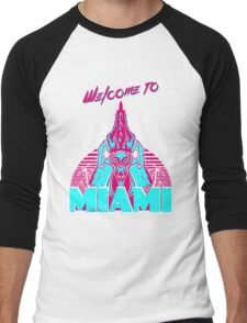 Welcome to Miami - I - Richard Men's Baseball ¾ T-Shirt