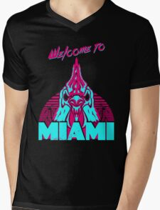 Welcome to Miami - I - Richard Mens V-Neck T-Shirt