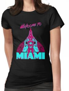 Welcome to Miami - I - Richard Womens Fitted T-Shirt