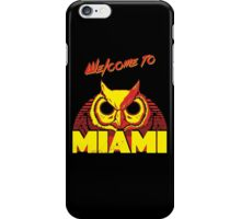 Welcome to Miami - III - Rasmus iPhone Case/Skin