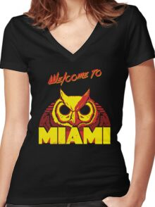 Welcome to Miami - III - Rasmus Women's Fitted V-Neck T-Shirt