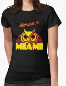 Welcome to Miami - III - Rasmus Womens Fitted T-Shirt