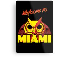 Welcome to Miami - III - Rasmus Metal Print