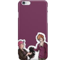 Tonks, Remus, Puppy iPhone Case/Skin