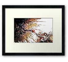 Death Note - Ryuk and Akira Framed Print