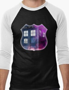 Public Police Box - Dr Who Men's Baseball ¾ T-Shirt
