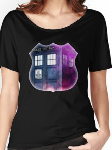Public Police Box - Dr Who Women's Relaxed Fit T-Shirt