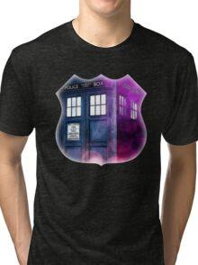Public Police Box - Dr Who Tri-blend T-Shirt