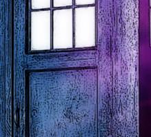 Public Police Box - Dr Who Sticker