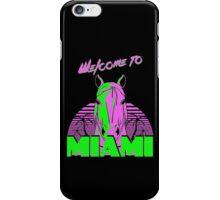 Welcome to Miami - II - Don Juan iPhone Case/Skin