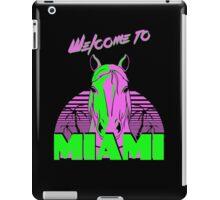 Welcome to Miami - II - Don Juan iPad Case/Skin