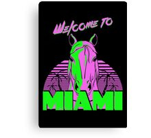 Welcome to Miami - II - Don Juan Canvas Print