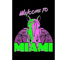Welcome to Miami - II - Don Juan Photographic Print