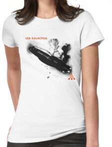 Led Galactica Womens Fitted T-Shirt