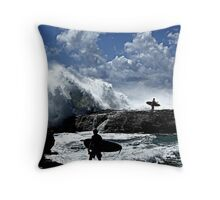 Challenging... Throw Pillow
