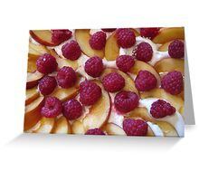 Fruit Pudding Greeting Card