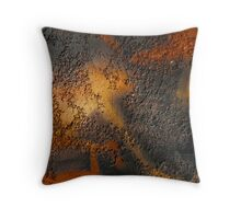Coloured wall Throw Pillow
