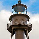 Sanibel Island Lighthouse Lantern Room by Kenneth Keifer