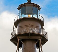 Sanibel Island Lighthouse Lantern Room by Kenneth Keifer