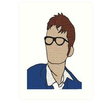 Tenth Doctor: Quotes Art Print