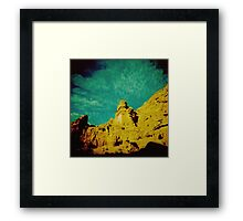 Half as old as time Framed Print