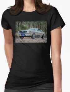 V8 pony Womens Fitted T-Shirt