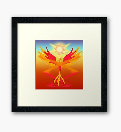 Magic Circle: Philomena Framed Print