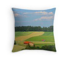 Bavarian Countryside Throw Pillow