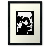 Brian Eno T-Shirt Framed Print