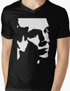 Brian Eno T-Shirt Mens V-Neck T-Shirt
