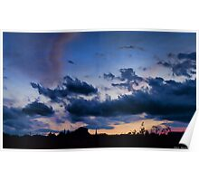 a memorable sunset Poster