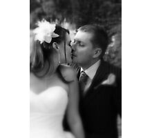 Wedded bliss... Photographic Print