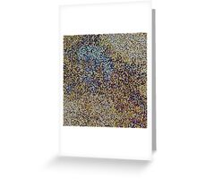 Pixel Composition Greeting Card