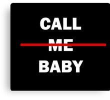 EXO/EXODUS - CALL ME BABY SHIRT Canvas Print