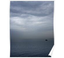 Storm over Sea Poster