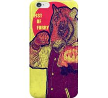 Fist of furry iPhone Case/Skin