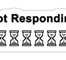 (Not Responding) Sticker