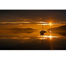 San Juan Islands Sunrise Photographic Print