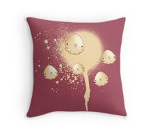 Baby Squids Throw Pillow